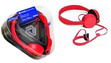 Brand New Nokia WH-520 Tangle Free Coloud The Knock Red Headphones with Mic