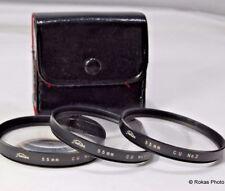 Toshiba 55mm +1, +2, +4  Filter  macro close-up lens set