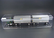 Display Cases (12) for 1/64 Scale Semi Trucks Train Hot Wheels Dragsters 633C-12