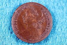 1886 Great Britain Farthing!! #C5952