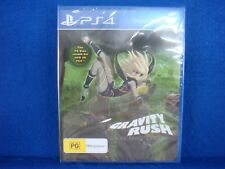 ps4 GRAVITY RUSH REMASTERED New & Sealed REGION FREE PAL ENGLISH EXCLUSIVE