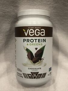 Vega Protein & Greens Chocolate (25 Servings, 28.7 Ounce) - Plant Based Protein