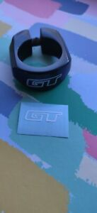 GT BMX Seat Post Clamp decal (WHITE)