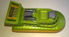 Vintage Matchbox Superfast No.72 metallic lime Hovercraft in very good condition