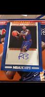 2019-20 Panini NBA Hoops RJ Barrett Great SIGnificance Rookie Auto NY Knicks