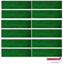 12 GREEN TERRY SWEATBAND Cotton Headband Workout Sport HEAD BANDS running mens