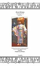 Kimono Pattern for the 14 inch Betsy McCall ~ Simply Grace Designs