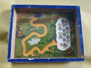 Vintage Alice in Puzzleland Dexterity Ball Puzzle by R J Journet London