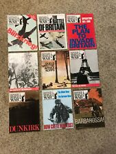 History Of The Second World War-Marshall Cavendish 9 mags 1;6;7;8;9;16;18;20;22