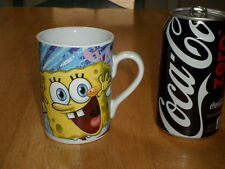 SPONGE BOB & FRIENDS, VIACOM Cartoon TV Show, Ceramic Coffee Cup / Mug, Vintage