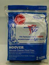 GENUINE HOOVER WINDTUNNEL V2 - DUAL V - SAVVY FINAL FILTER #40110009