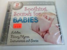 SOOTHING SOUNDS FOR BABIES LULLABIES NURSERY RYMES INSTRUMENTALS NEW DBL-CD