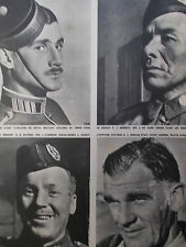 MATCH 02-1940 Volontaires canadiens, Anzacs, EDA PHYLLIS GREEN, cardinal VERDIER