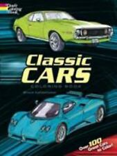 Classic Cars Coloring Book (Boxed Sets/Bindups)-ExLibrary
