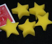Sponge Stars (set of 5)-Yellow- stellar add-on to your sponge magic Tmgs