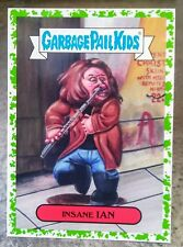 2017 GARBAGE PAIL KIDS BATTLE OF THE BANDS GREEN BORDER STICKER 15A INSANE IAN