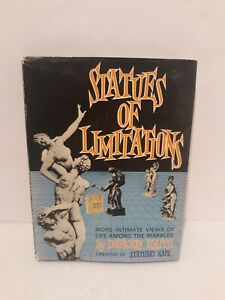 Vtg 1961 Modern Art NUDE BOOK Statues of Limitations by DENISON HATCH