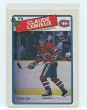 CLAUDE LEMIEUX 1988-89 Topps OPC O-Pee-Chee  #227