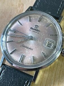 OMEGA Stainless Vintage all original Seamaster Automatic, late 1960's (serviced)