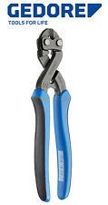 "GEDORE 200mm (8"") Bolt Steel Wire Power Side Cutter/Cutting Plier, 8340Z-200-JL"