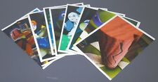 UN LOTE DE 9 CROMOS TEENAGE MUTANT NINJA TURTLES  2013 -PANINI