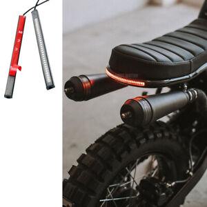 Motorcycle 48 LED License Brake Tail Light Turn Signal for Bobber Cafe Racer ATV