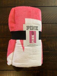 PINK victorias secret oversized towel pink 70in x 40in