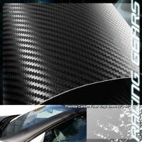 "For Mazda Toyota 12/""x50/"" Flexible Carbon Fiber Vinyl Film Wrap Roll Sheet Decal"