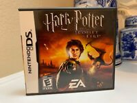 Harry Potter and the Goblet of Fire (Nintendo DS, 2005) *COMPLETE Rare Vintage