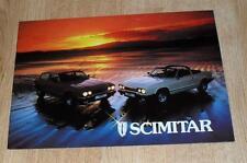 Reliant Scimitar GTC & GTE Brochure 1983
