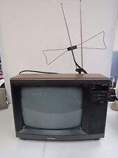 """Vintage Sharp Linytron 13RM59  13"""" Faux Wood Color TV Television  1403H"""