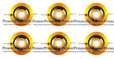 6pcs Aftermarket Diaphragm For JBL 2404 2404H 2404H-1 2405 2405H 075 076 16 ohm