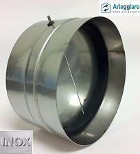 Valvola non ritorno aria ACCIAIO INOX diametri vari con guarnizione interna