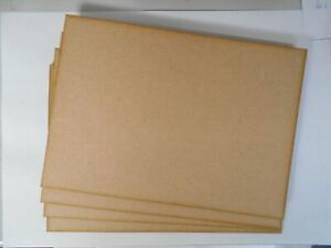 MDF sheets 3mm thick, A4 size, for pyrography, crafts,modelling.x 4