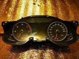 2013 AUDI A4 B8 INSTRUMENT CLUSTER SPEEDOMETER 8K0920982B