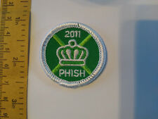 PHISH - OFFICIAL LIMITED EDITION - MERIT BADGE -CHARLOTTE, NC - SUMMER TOUR 2011