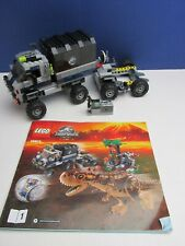 lego JURASSIC WORLD TRUCK *ONLY* from set 75929 Carnotaurus Gyrosphere Escape