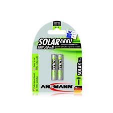 Akku Ansmann AAA Micro 550mAh SOLAR 2 Stk Batterie aufladbar