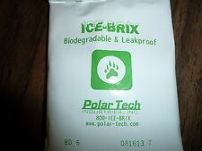 "Gel Ice Packs  7-Pack Leak-Proof & Biodegradable  4"" X 6"" ~  6 oz.  Great Size!"