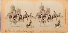 STEREOSCOPIE Stereoview KILBURN EGYPTE CAIRE KHALIFS