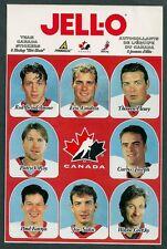1997 KRAFT Jello Spoon Team Canada Set of 8 - Gretzky, Roy, Lindros etc.