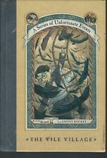 The vile village by lemony snicket 7th in series 2001 hardcover 1st stated