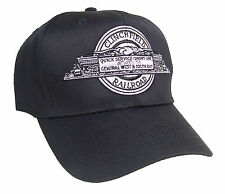 Clinchfield Railroad Steam Locomotive Embroidered Cap #40-2060