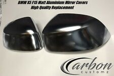 BMW X5 F15 Polished Aluminium Mirror Covers 2014 - 2017 F25 X4 F26 X5 F15 X6 F16