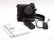 Sony Alpha A6300 24.2MP Digital Camera Body + Battery Grip & Extra Battery! USA