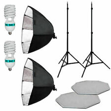 "26"" Larger 2 Softbox Studio Video Photo Lighting Photography Soft Box Light Kit"