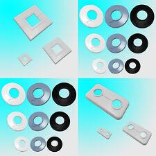 Abdeck Rosetten für Heizkörper Heizungsrohr Kupferrohr Abdeckrosette 8-60mm