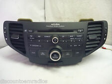 11-14 ACURA TSX Premium Audio OEM Radio Cd MP3 & Code 1XA9 39100-TL2-A110 CT5431