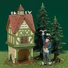 DEPT 56 Dickens Village - Hedgerow Dovecote - Retired - Set of 2