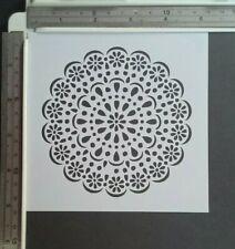 Doillie Flower Stencil Scrapbooking Card Making Airbrush Painting Home Decor Art
